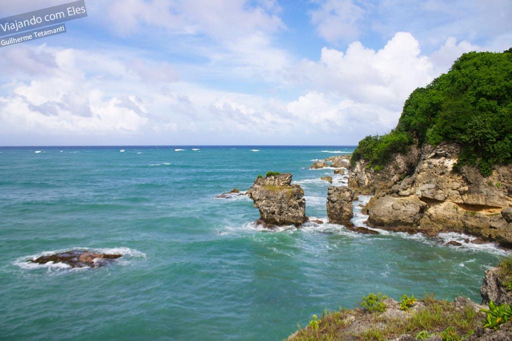Archer's Bay, a primeira parada da viagem de carro em Barbados