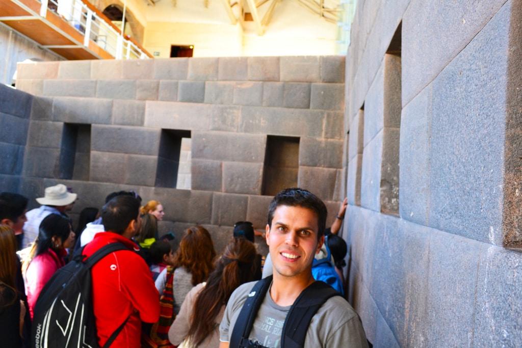Ruínas em viagem por Cuzco