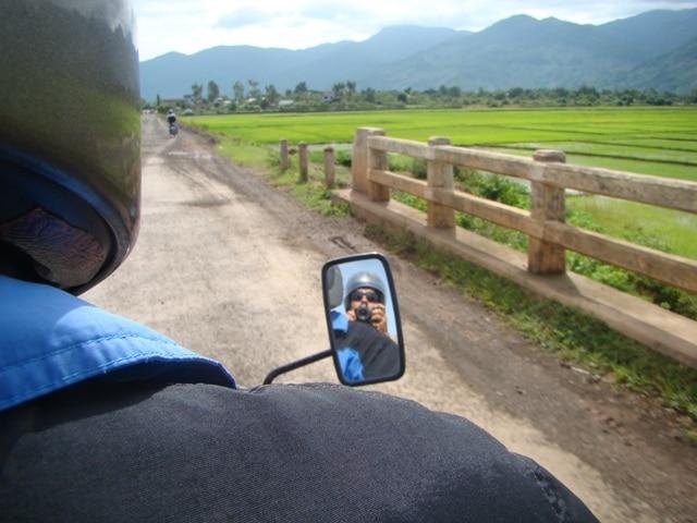 Vietnã - Descobrir as paisagens cheias de arrozais de moto