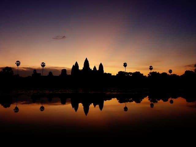 Cambodja - Ver o nascer do sol em Angkor Wat