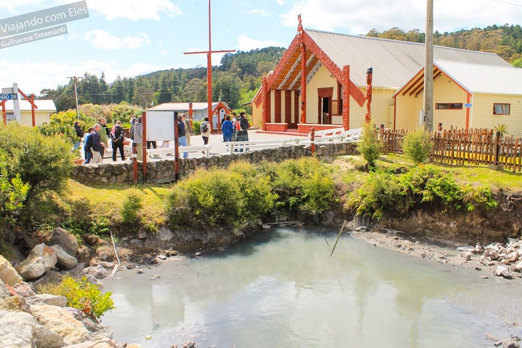 Pontos de interesse em Whakawerawera Village