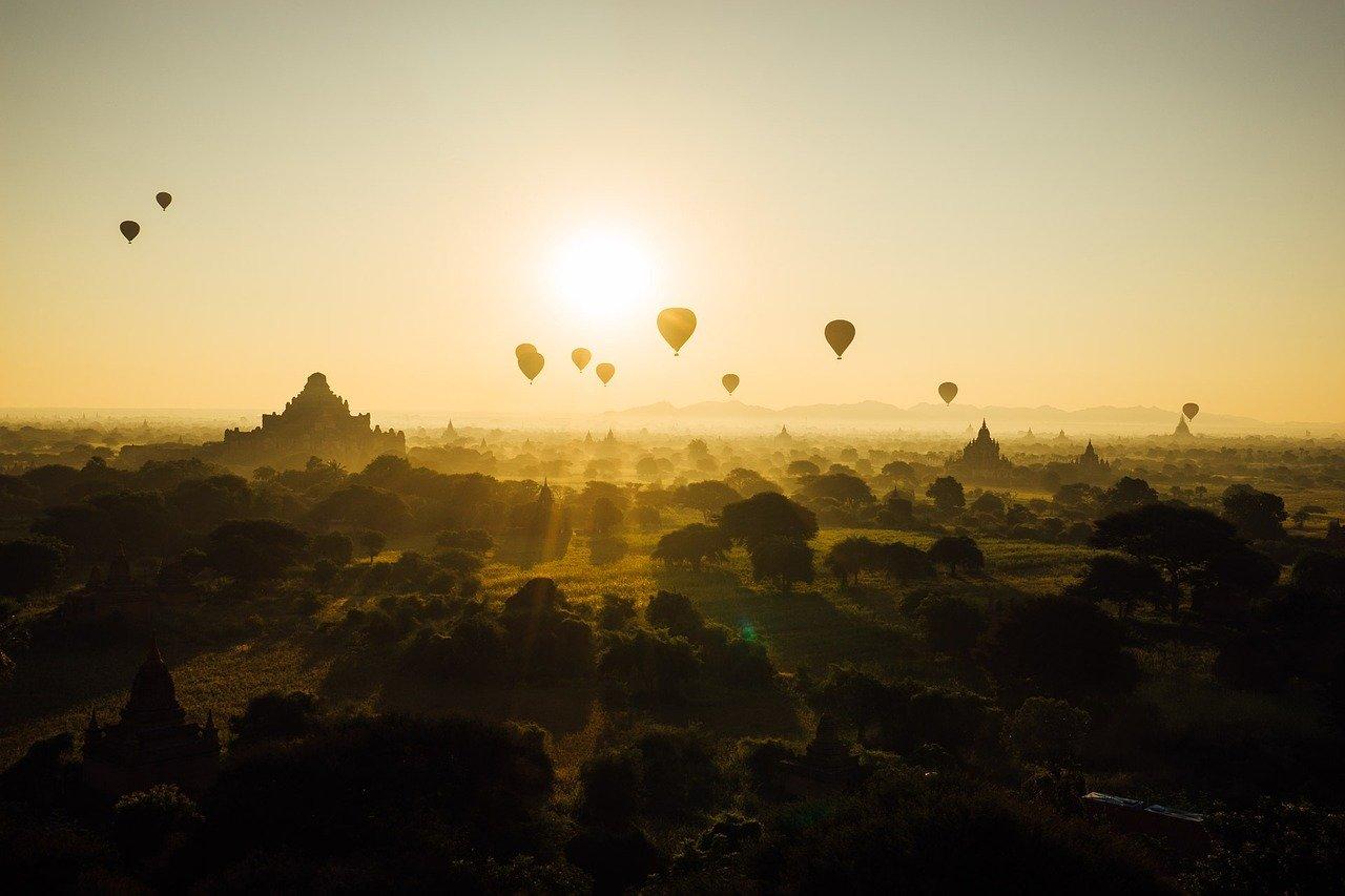Bagan, destino turístico em Myanmar