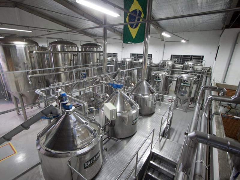 Visitar a Cervejaria Bierland