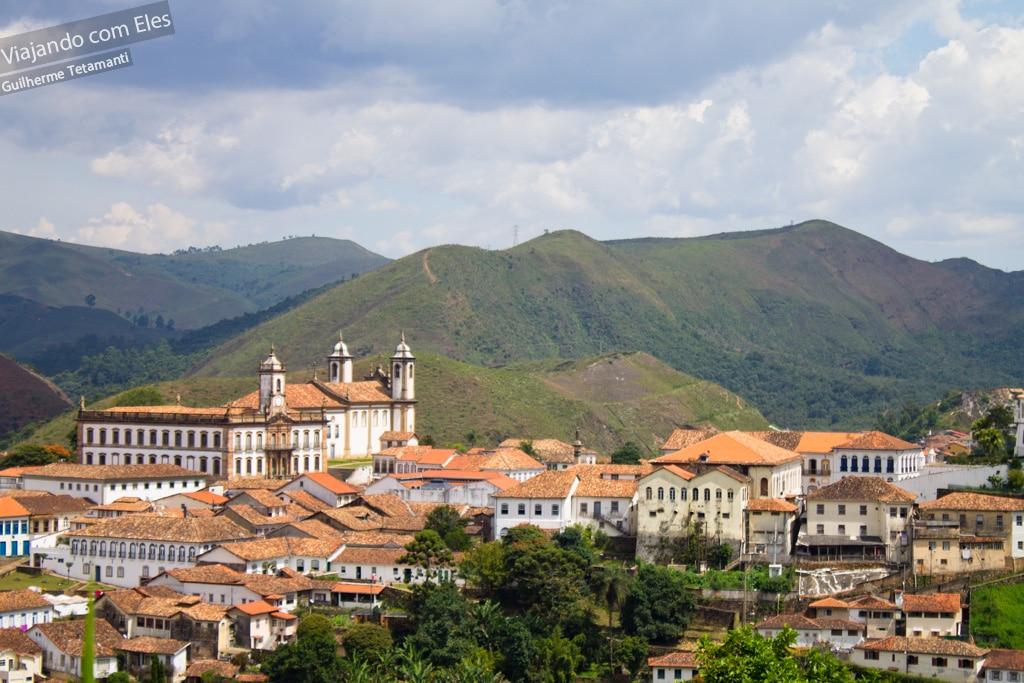 Ouro Preto, a capital da mineração.