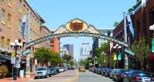 Hotéis na Gaslamp Quarter / San Diego.