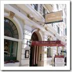 Hotéis no centro de San Francisco.
