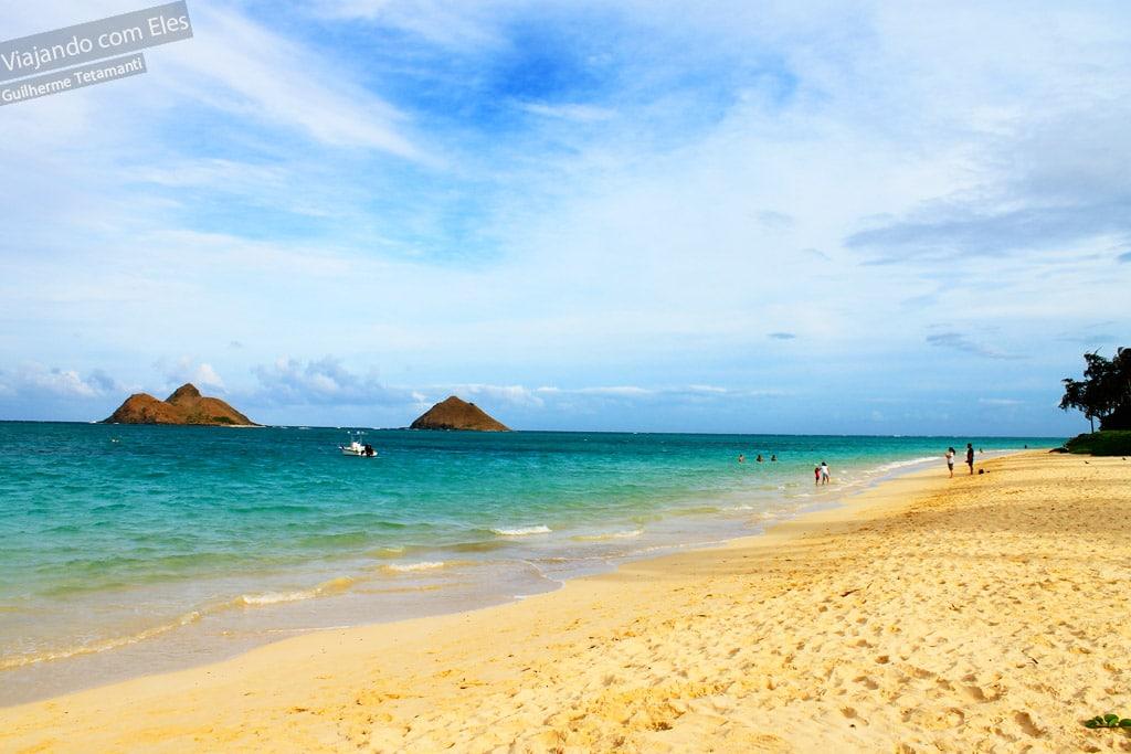 Praia de Lanikai onde ficar