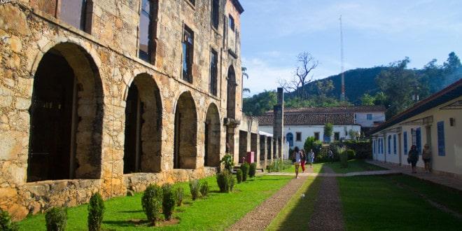 Santuário do Caraça na Estrada Real.