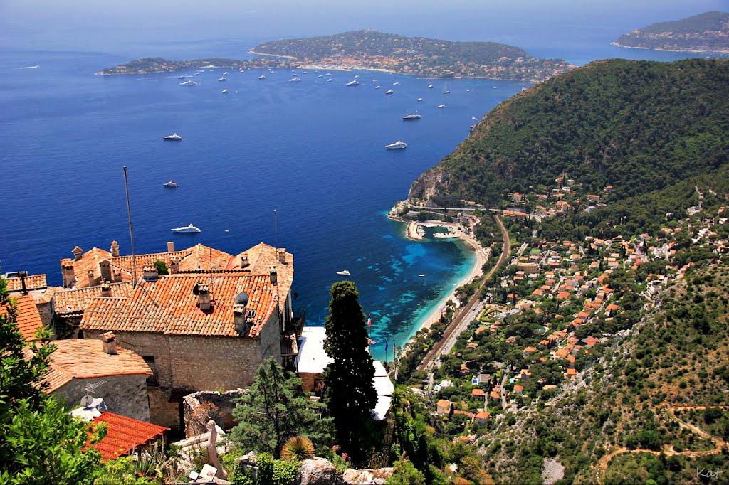 Côte D'Azur / Praias mais badaladas da Europa.