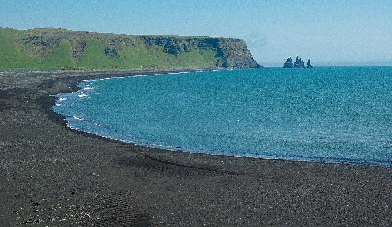 praias da europa islandia