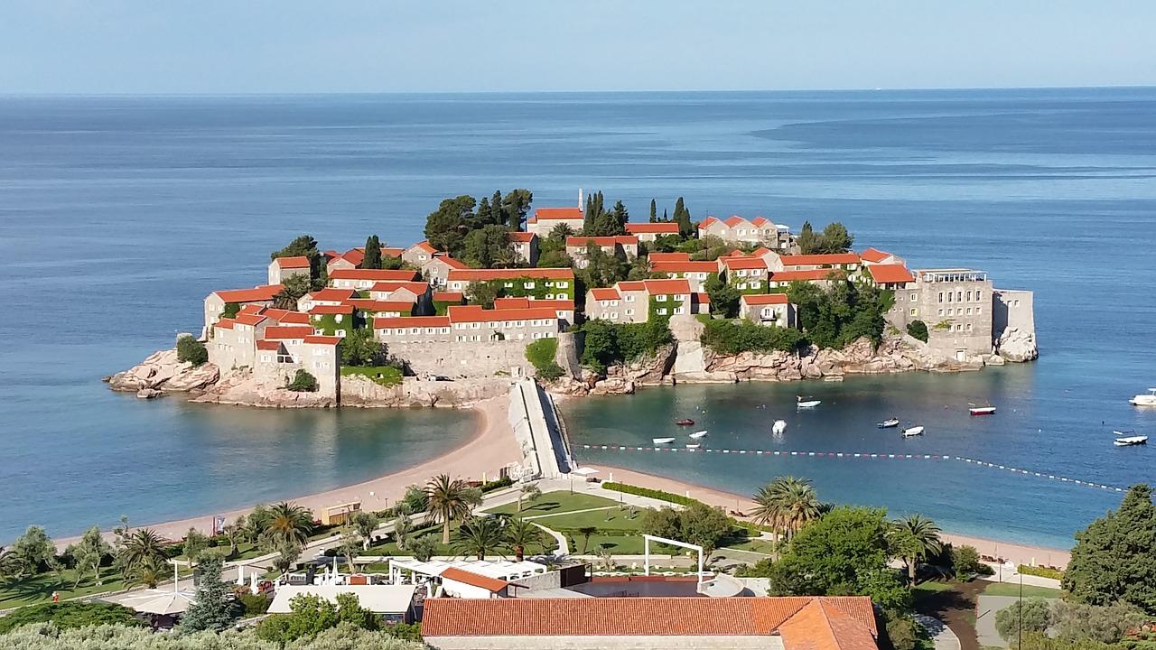 praias de Montenegro
