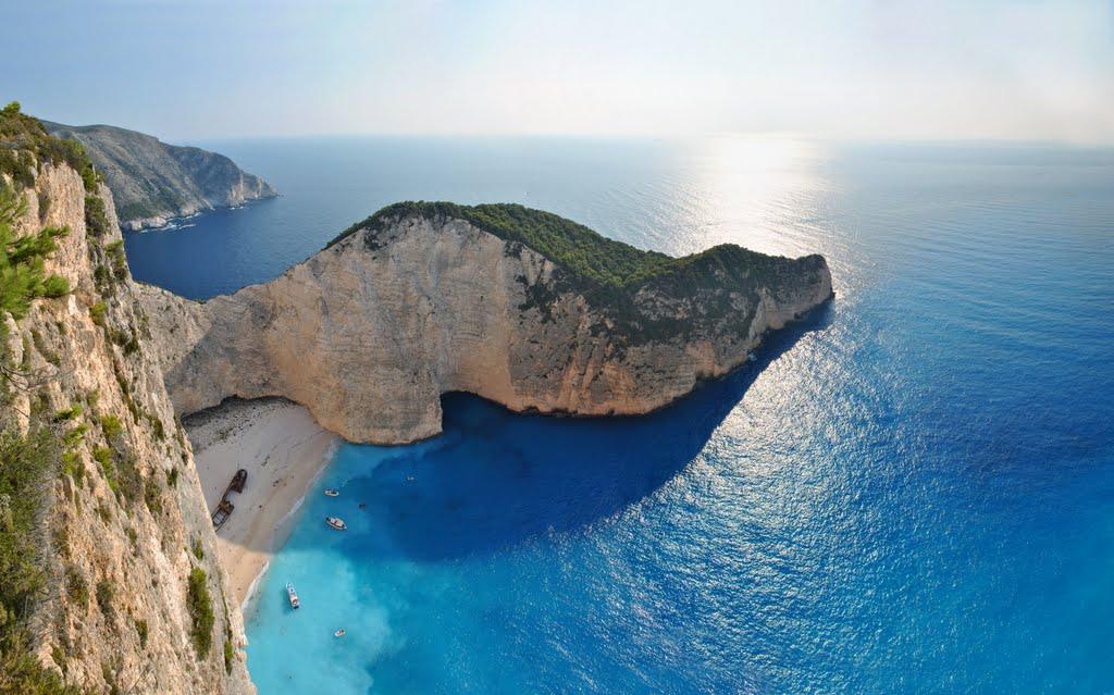 Zakynthos / Praias mais lindas da Europa.