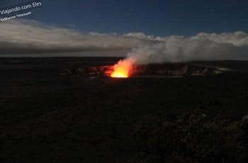 Vulcão ativo em Big Island.