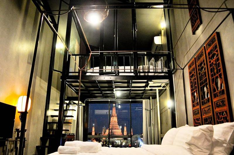 Hotel perto do agito em Bangkok