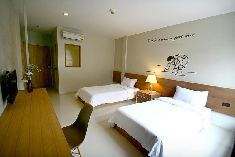 Hostels bem avaliados em Bangkok