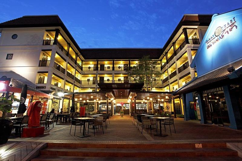 Hotel na Avenida Khaosan em Bangkok