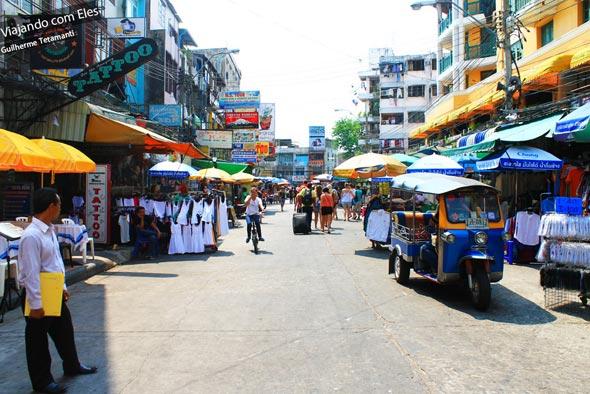 Dicas dos melhores bairros em Bangkok.