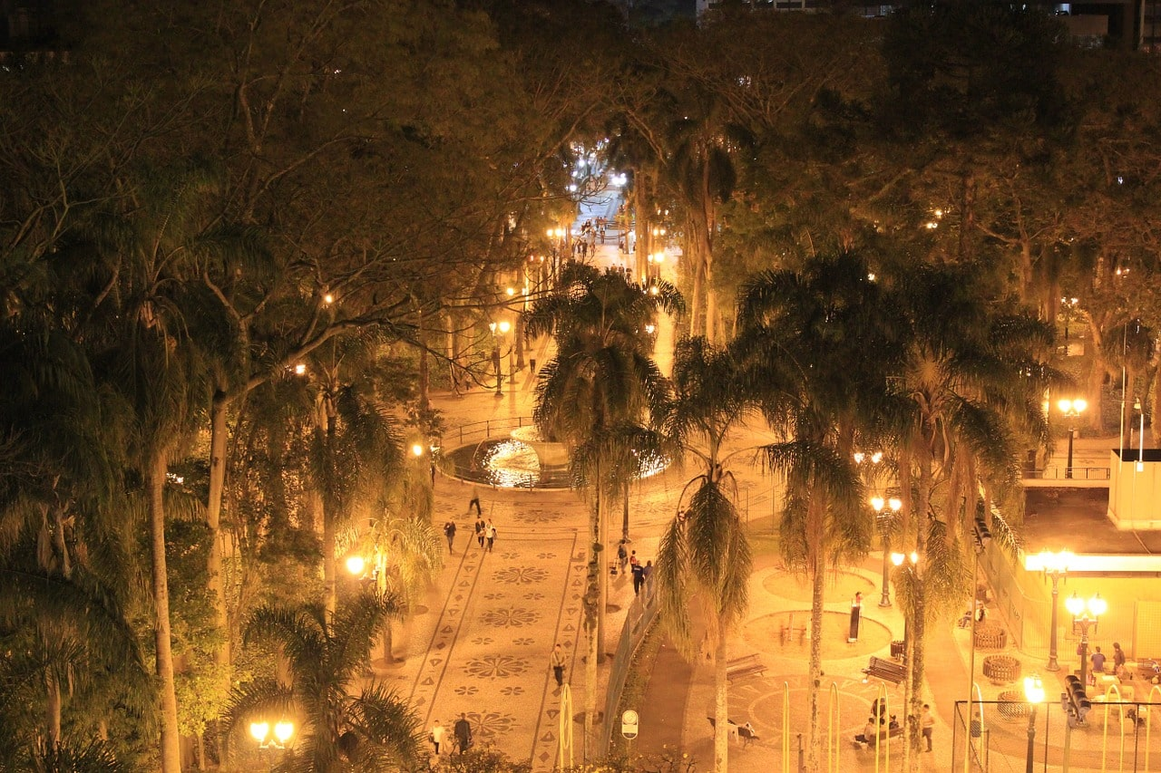 Final de semana em Curitiba