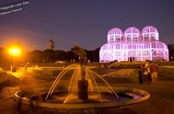 Jardim Botânico de Curitiba.