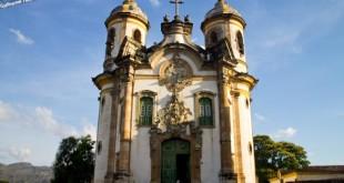 Pontos turísticos de Ouro Preto.