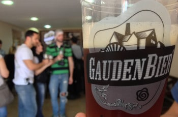 Gauden Bier em Curitiba.