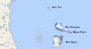 Onde ficar em Koh Phangan.