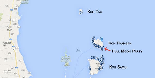 Onde ficar em Koh Phangan