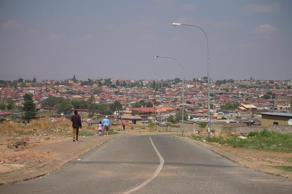 Tour em Soweto.