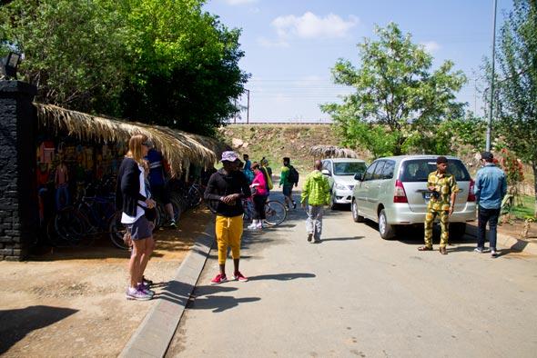 Bike tour no Soweto.
