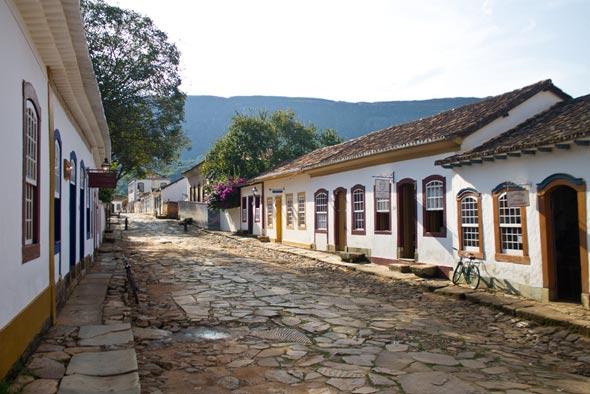 Pontos turísticos de Minas Gerais.