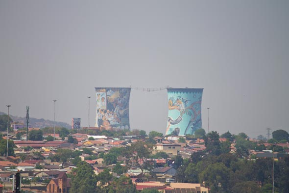 Orlando Towers no Soweto.