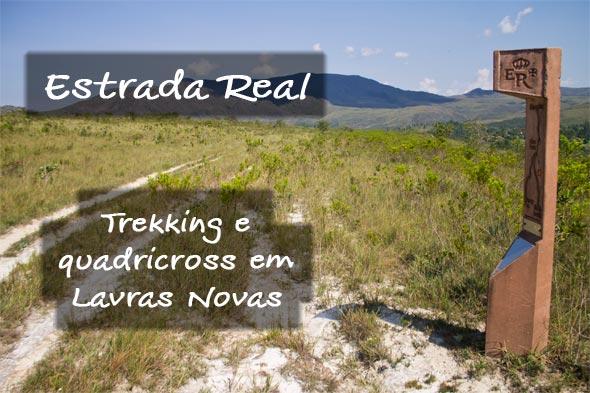 Trekking e quadricross em Lavras Novas.