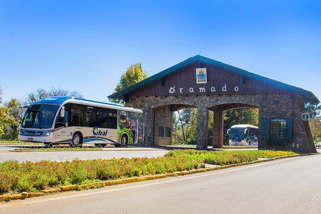 Como chegar em Gramadode ônibus