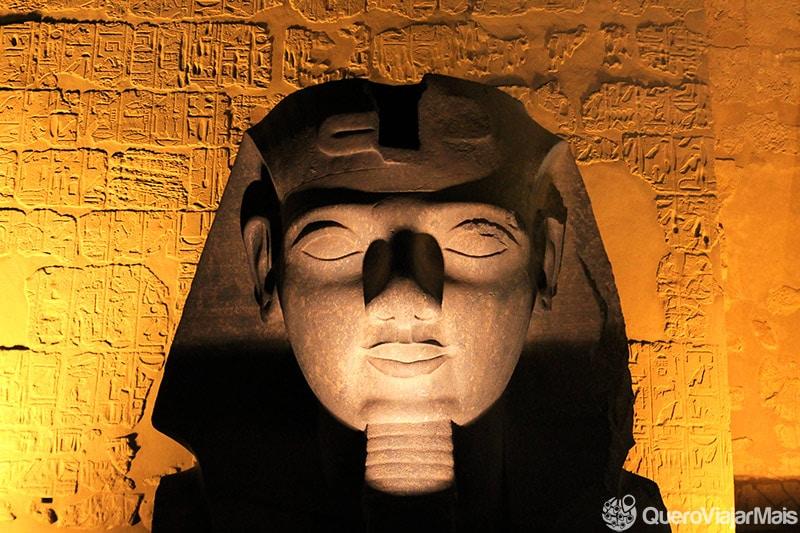 Destino de turismo no Egito