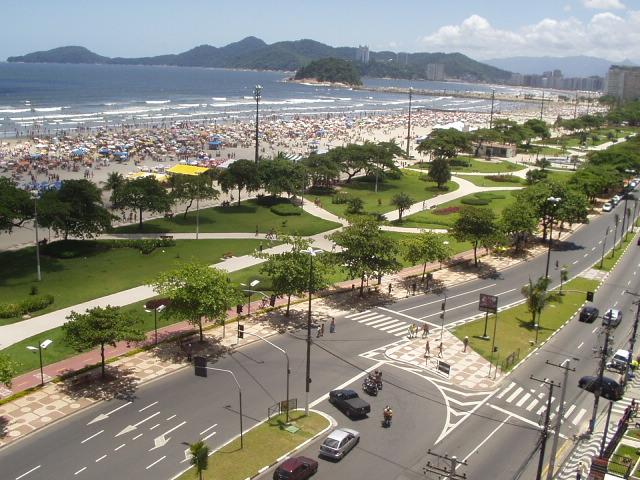 Passagem de ônibus para Santos