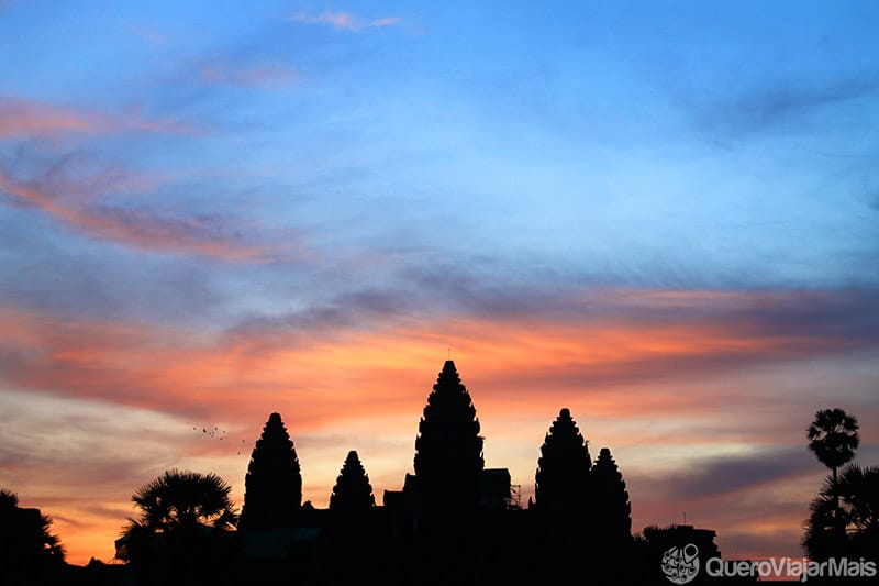 Turismo em Angkor Wat / Camboja
