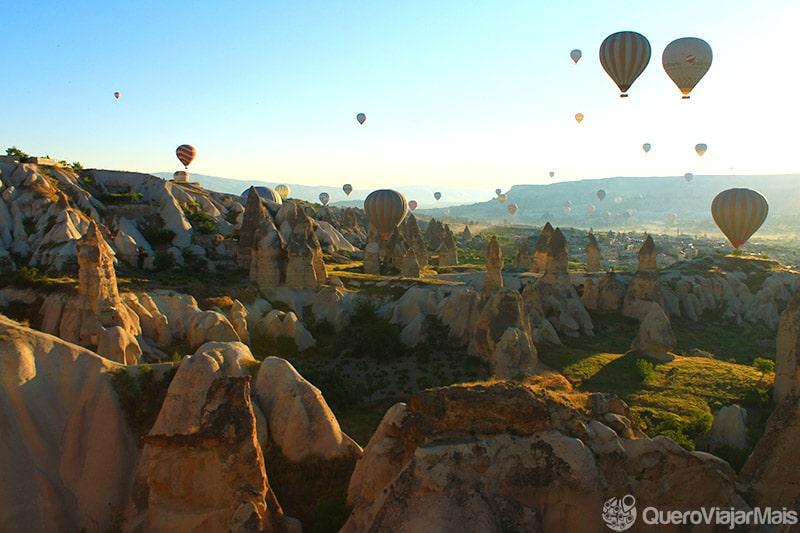 Turismo na Capadócia na Turquia