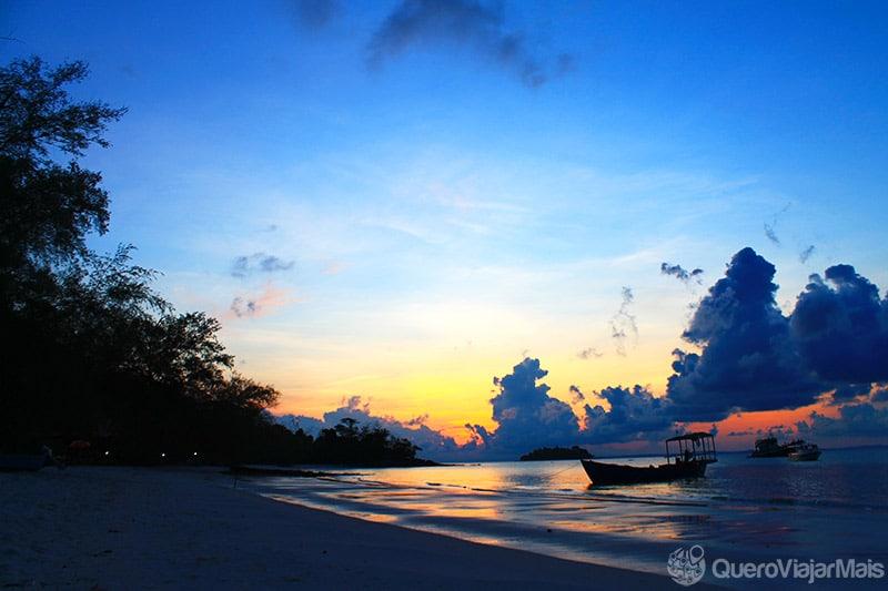 Turismo nas ilhas do Camboja
