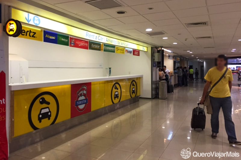 Alugar carro no aeroporto de Santiago