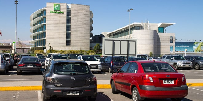 Hotel Holiday Inn no Aeroporto de Santiago