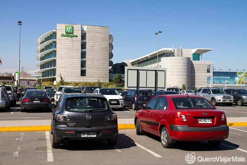 Hotel Holiday Inn no Aeroporto de Santiago
