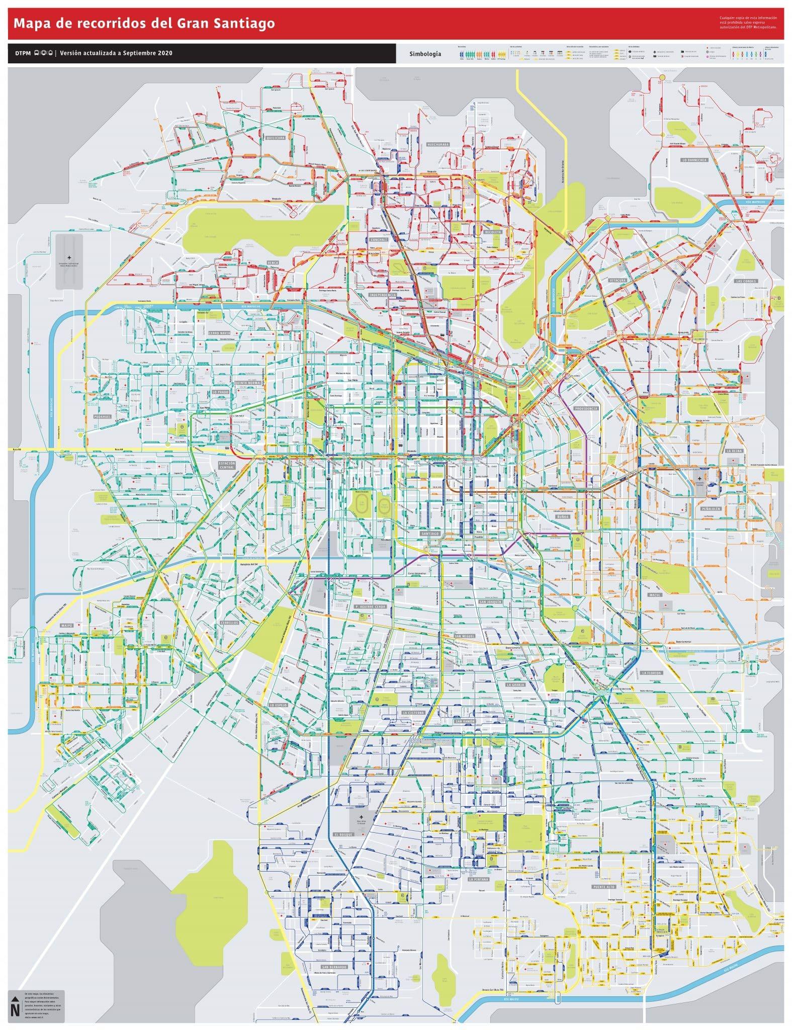 tarjeta metro Santiago