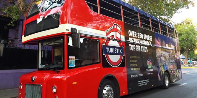 Ônibus turístico de Santiago