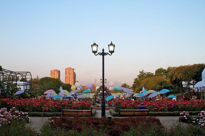Principais parques de Santiago