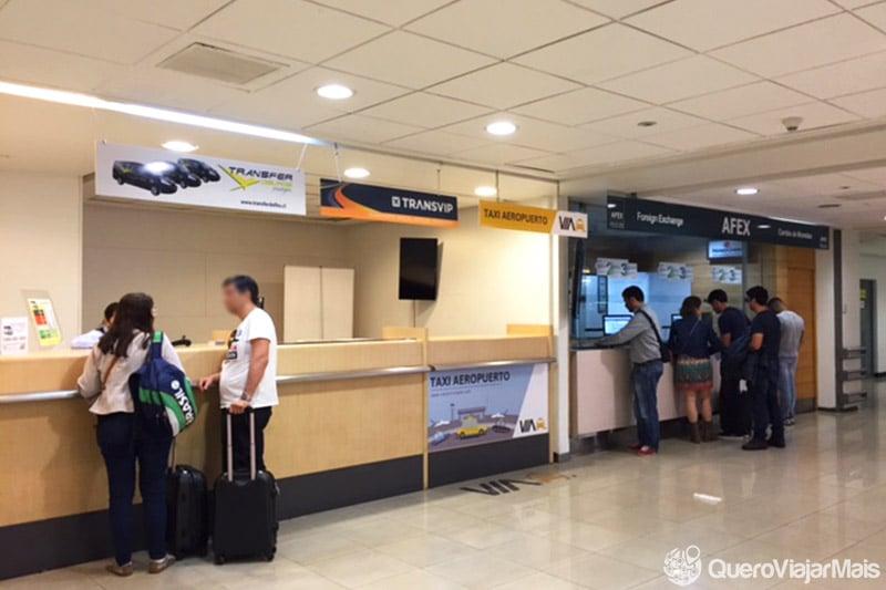 Transfer do Aeroporto de Santiago para os hotéis