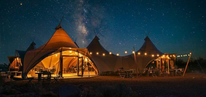 Under Canvas Camping