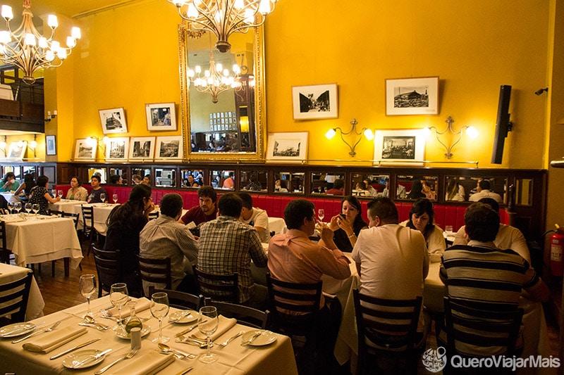 Roteiro gastronômico em Santiago