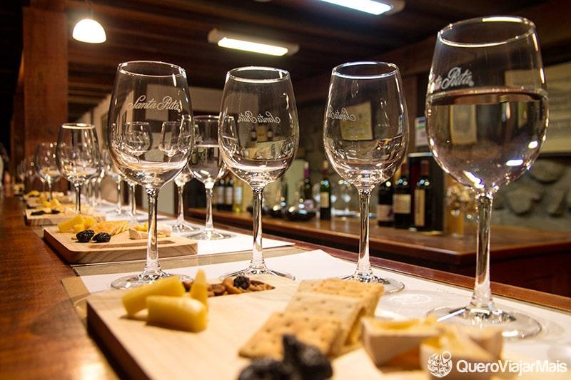 Passeios em vinícolas do Chile