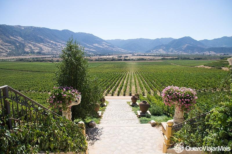 Roteiro com visita à vinícola em Santiago