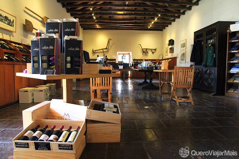 Onde comprar vinho no Chile